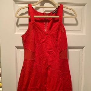 Express Red Bodycon Dress Size 8